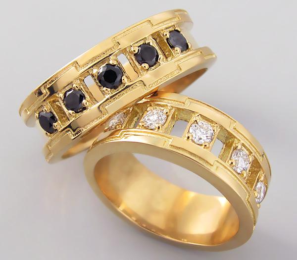 Изобр по > Свадебные Кольца с Бриллиантами