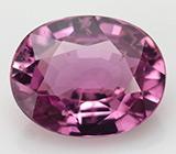 Розовый сапфир 0,86 карат