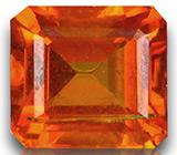 Редкий камень! Ярко-оранжевый цинкит 3,05 карат