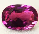 Пурпурно-розовый cапфир 2,1 карат
