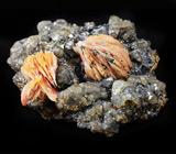Кристаллы барита и церуссита 98 грамм