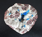 Кристаллы пентагонита и кварца на породе 48 грамм