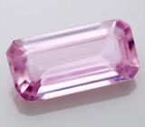 Розовый сапфир 0,75 карат