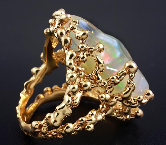 крупные кольца из золота