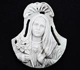 Камея-подвеска «Благовест» из цельной яшмы 63,9 карат