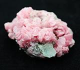 Родохрозит с кристаллом флюорита 38 грамм