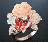 Чудесное серебряное кольцо