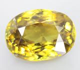 Золотистый сфен 3,1 карат