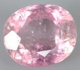 Розовый турмалин 3,31 карат