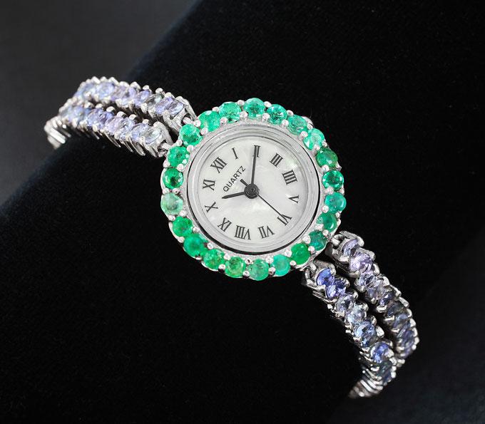Часы с изумрудами купить morphic часы купить