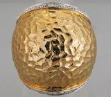 Массивное кольцо с бриллиантами