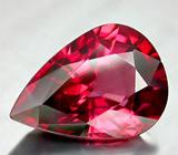 Изумительный ярко-розовый циркон 8,31 карат