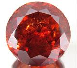 Ярко-оранжевый сфалерит 7,19 карат