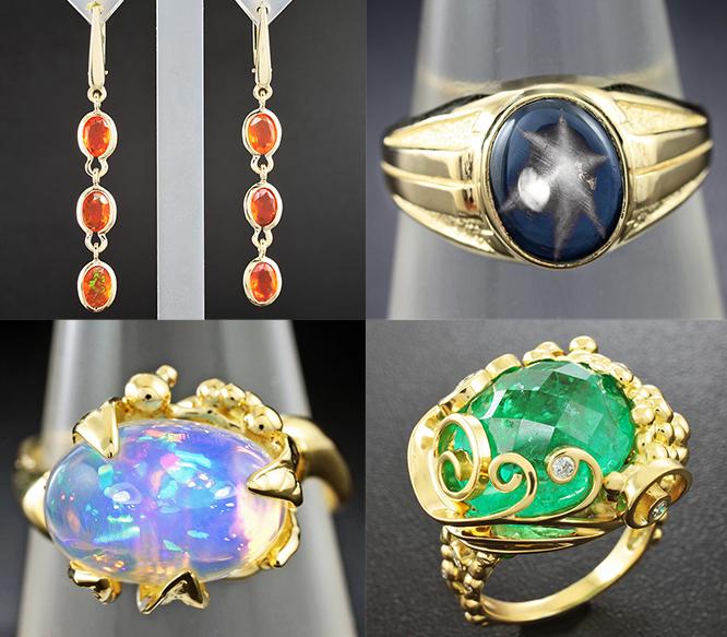 Эксклюзив ювелирные украшения с натуральными камнями
